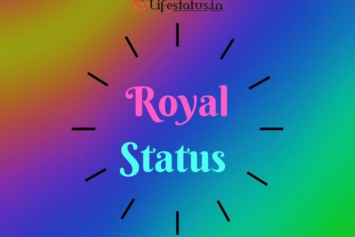 50+ New Best Royal Attitude Status in Hindi Collection for Whatsapp, Facebook