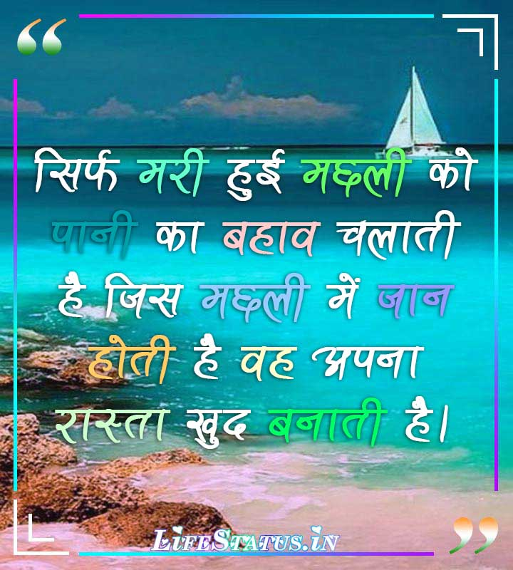 Success Status in Hindi with Images